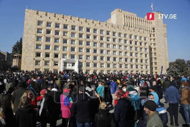 Протести у Тбілісі