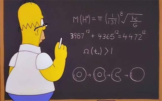 Гомер відкрив рівняння Бозона Хіггса