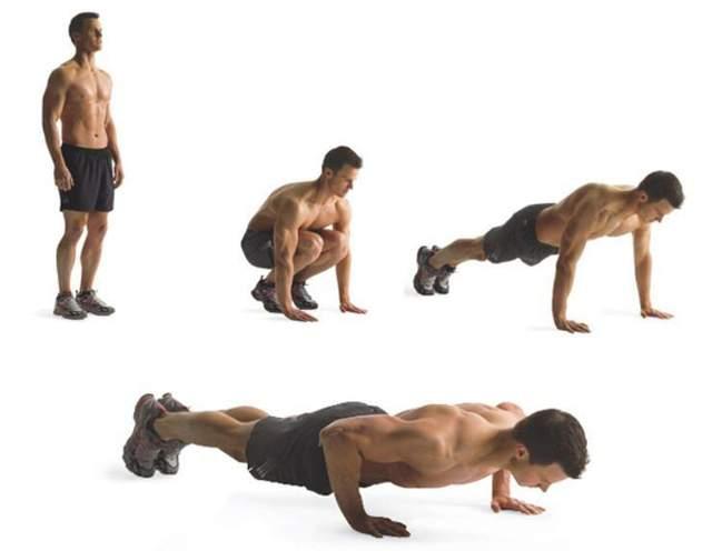 Комплекс вправ для спалювання жиру