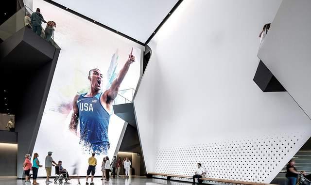 Музей випромінює прогесивні цінності олімпійської команди США / Фото Harmonies Magazine