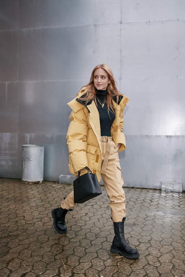Як стильно носити взимку штани