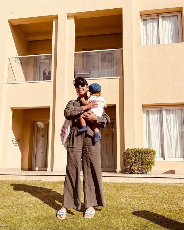 Джамала з молодшим сином у Єгипті