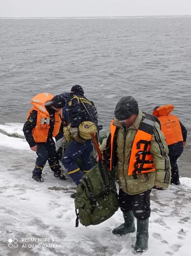 порятунок рибалки ДСНС Кіровоградщина