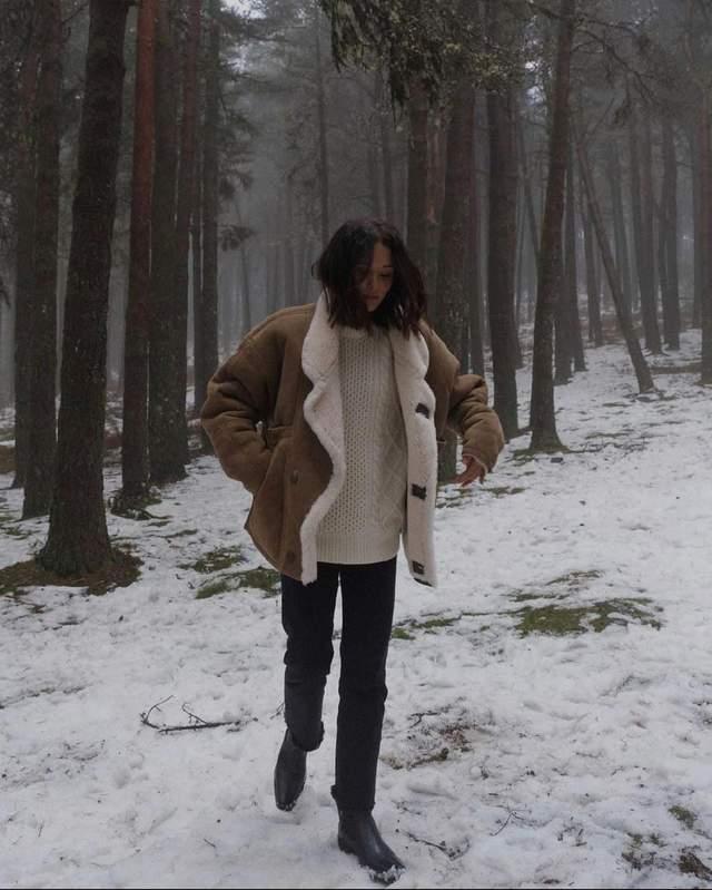 Стильні зимові образи