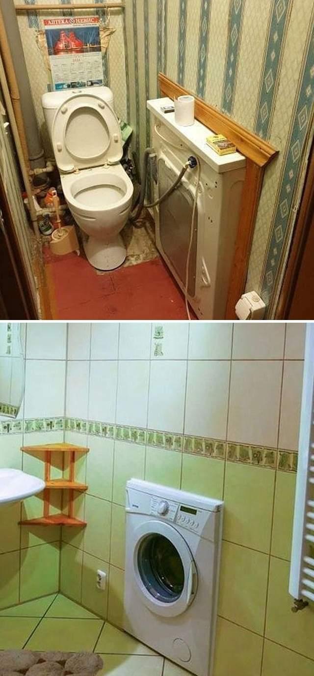 Вот только дом немного шатается, когда вы стираете