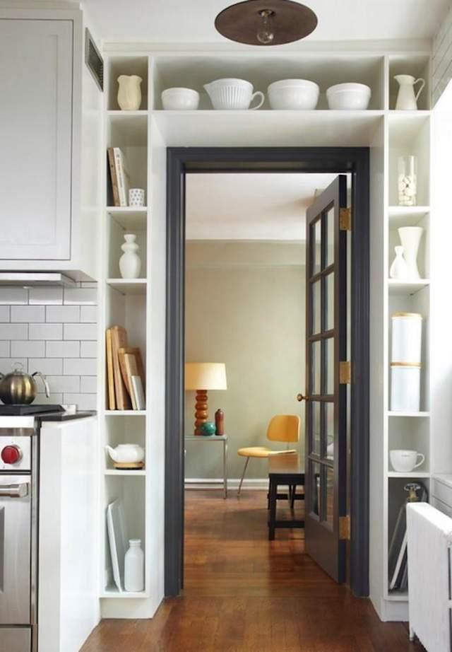 Цікавий приклад такої стінки на кухні / Фото Pinterest