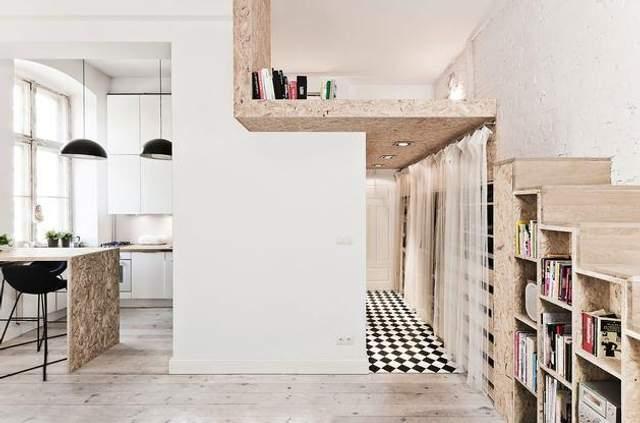 Цікавий рішення із сходами / Фото Pinterest