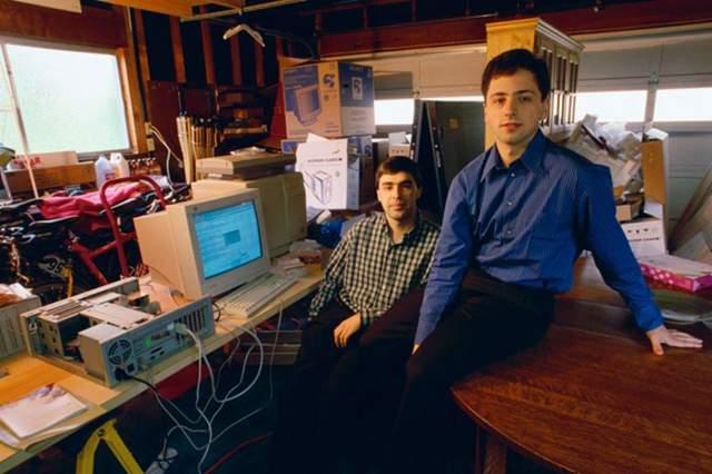 Основатели Google за 5 лет до IPO