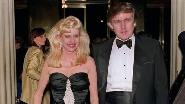 Дональд Трамп з першою дружиною