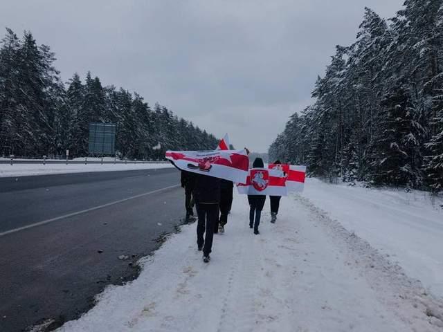 Білорусь, протести 31 січня 2021, Мінськ