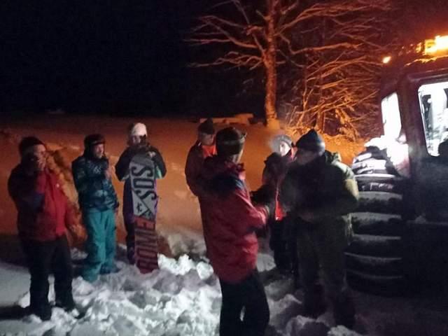 Рятувальники допомогли туристам