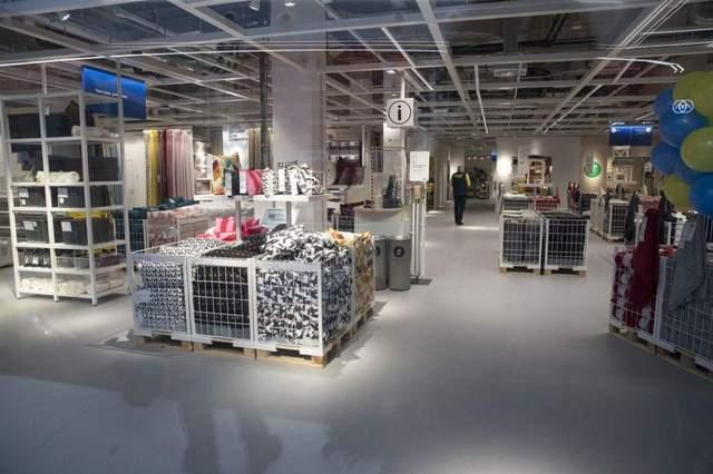 До открытия магазина товары IKEA можно было приобрести только онлайн