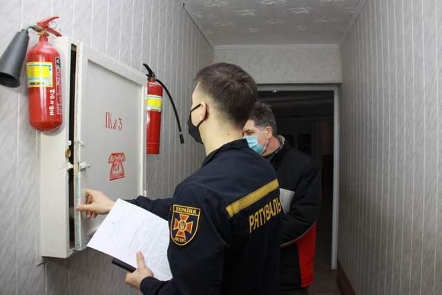 Рятувальники перевіряли будинки престарілих в Україні