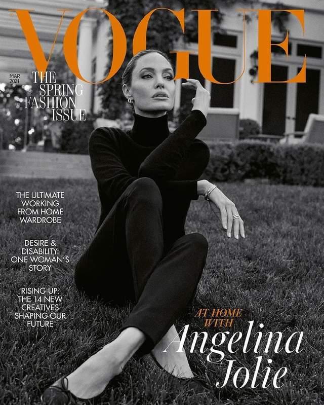 Анджеліна Джолі знялася для британського Vogue