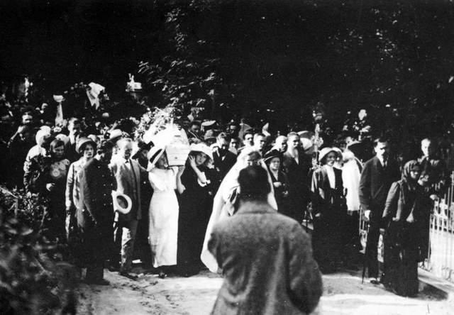 Похорон Лесі Українки