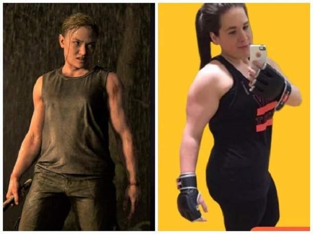 Тепер Кері дуже схожа на Еббі з гри The Last Of Us: Part II