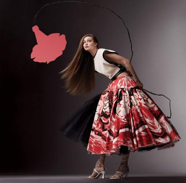 Джіджі Хадід знялася для глянцю / Vogue