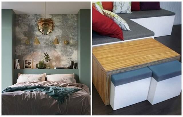 Меблі-трансформери та стильні кольорові рішення