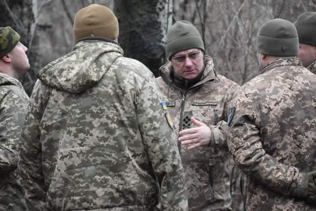 Хомчак, Донбас, українські військові, Операція Об'єднаних сил, ОС