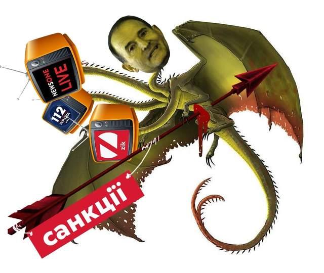 Жарти про блокування каналів Медведчука
