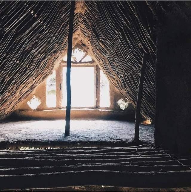 В таких домах жили наши предки