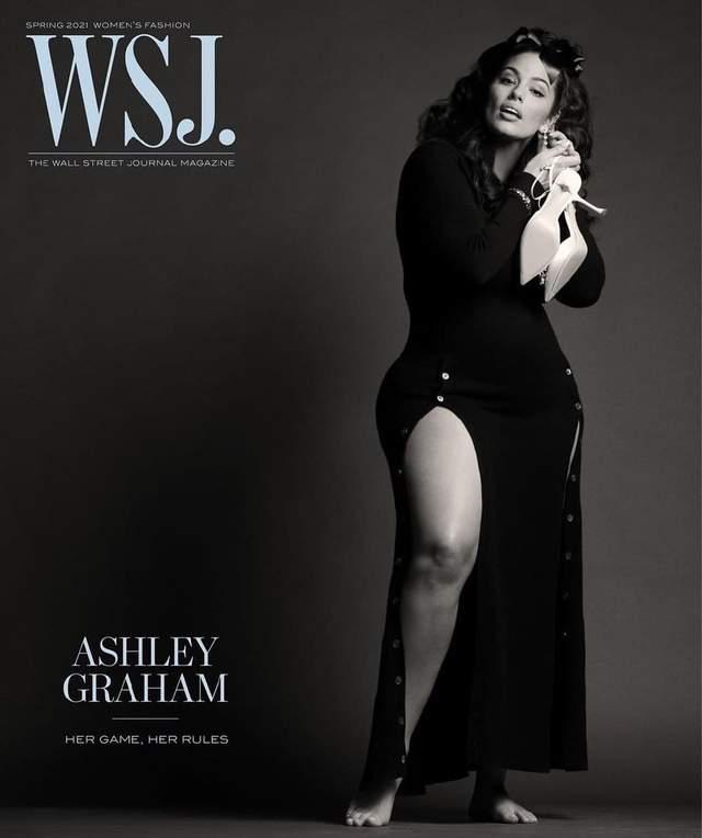 Ешлі Грем знялася у фотосесії для WSJ
