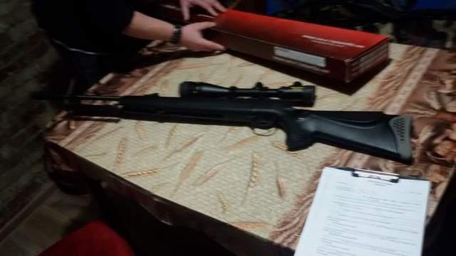 У Самборі чоловік розстріляв собаку з пневматичної гвинтівки: фото