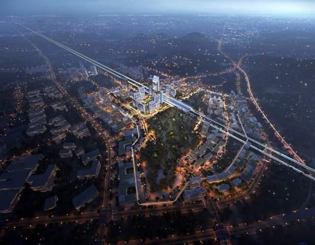 Нові споруди біля транспортної розв'язки / Фото New Atlas