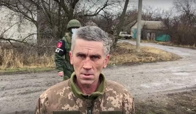 Українець в полоні бойовиків