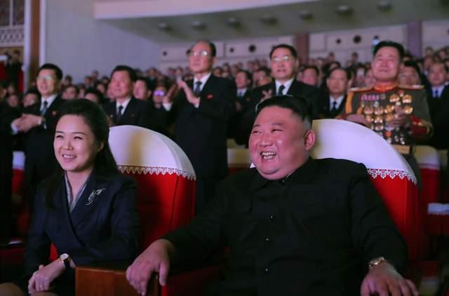 кім чен з дружиною північна корея