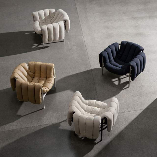 пуховое кресло