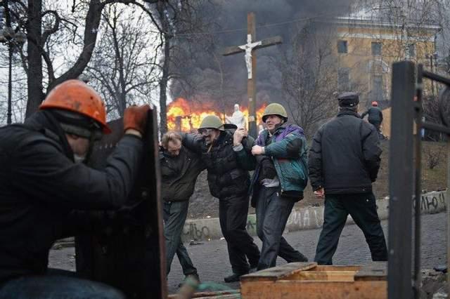 Беркутівці прицільно стріляли у майданцівців 20.02.2014