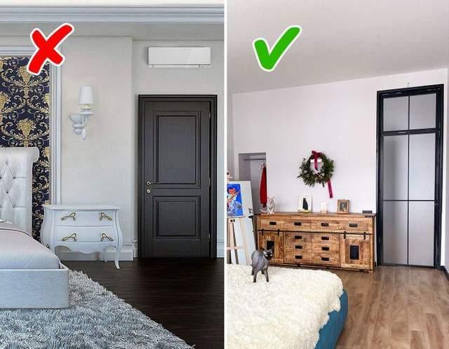 Двері до стелі візуально розширюють простір