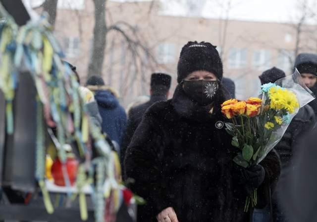 У Києві вшанували героїв Небесної Сотні