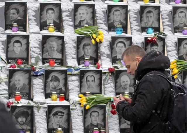 У Києві вшанували Небесну Сотню