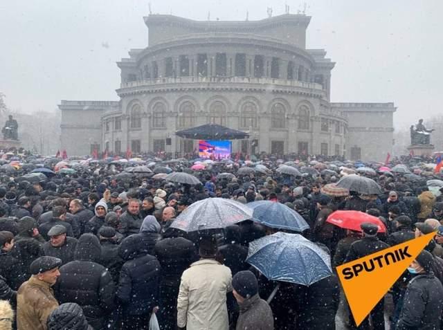 Протест у Єревані