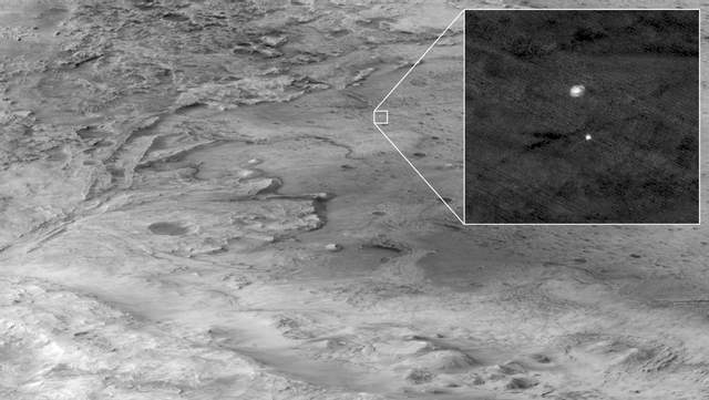 Perseverance спускається на Марс