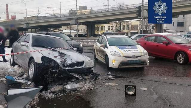 ДТП Київ Лобановського
