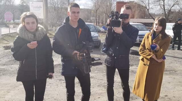 журналісти медведчуківських каналів