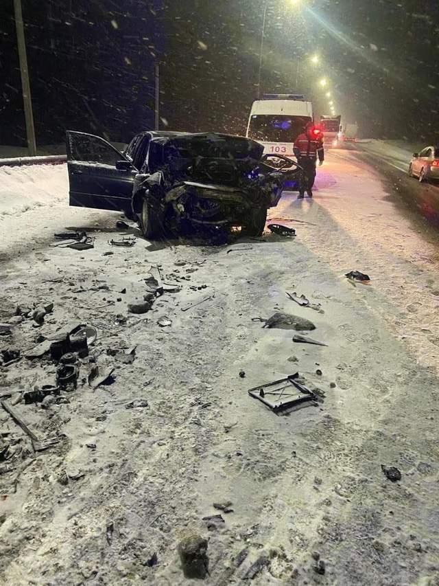 На Львівщині в жахливій ДТП загинув чоловік: ще 2 людей травмувались – фото