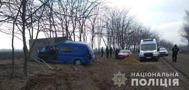 ДТП біля Одеси загинув водій