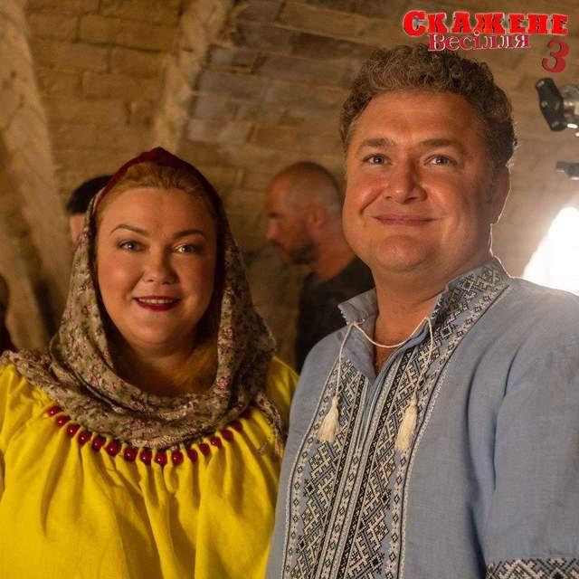 Назар Заднепровский и Леся Самаева