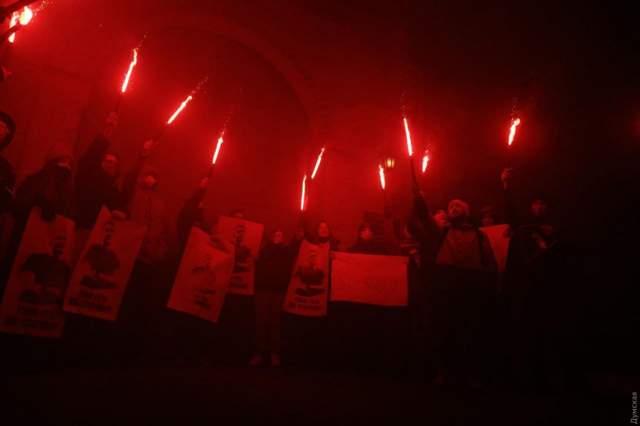 Протести Стерненка
