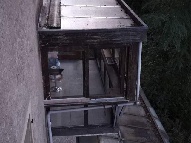 Скляний балкон /