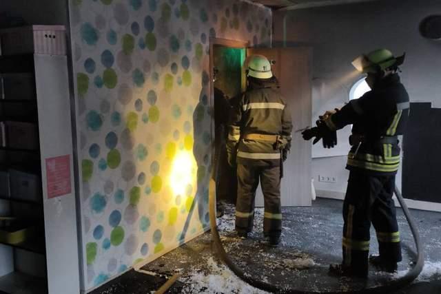 Рятувальники гасили пожежу у дитсадку Харкова