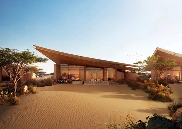 Готель оточений пустельним ландшафтом / Фото Dezeen