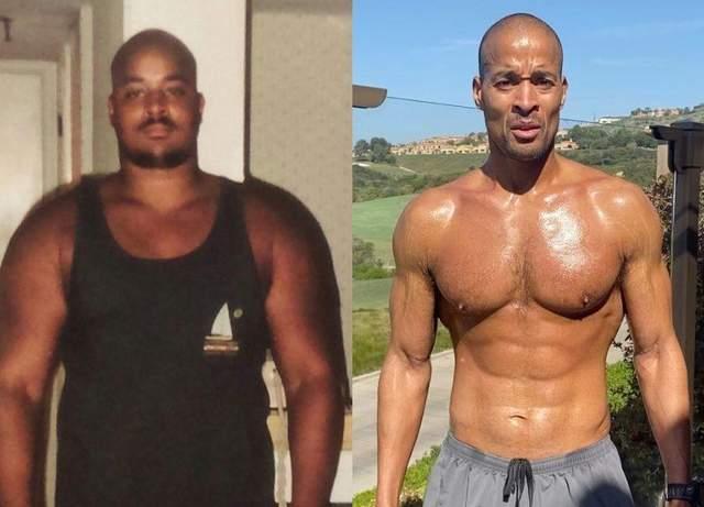 Девід Гоггінс схуд на 48 кілограмів за 3 місяці