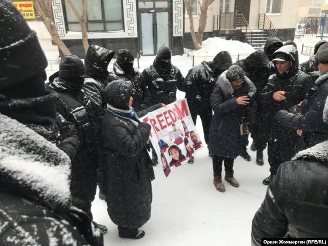 Казахстан, протести, силовики, кетлінг, мітинги 28 лютого 2021, опозиція