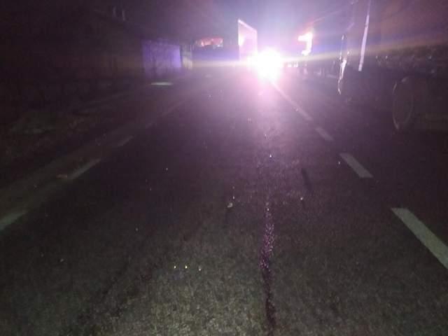 На Львівщині водій Volkswagen на смерть збив жінку: фото