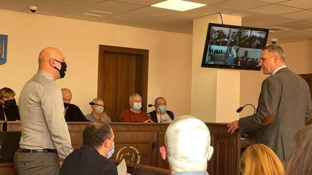 Кличко дав свідчення суду у справі розстрілів на Майдані